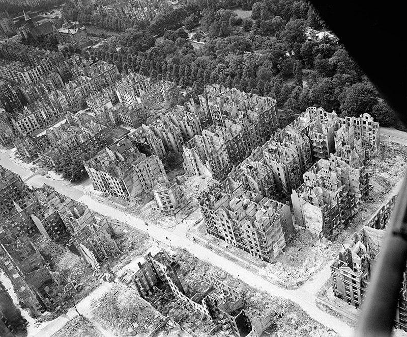 Linke Webseite feiert Zerstörung Hamburgs