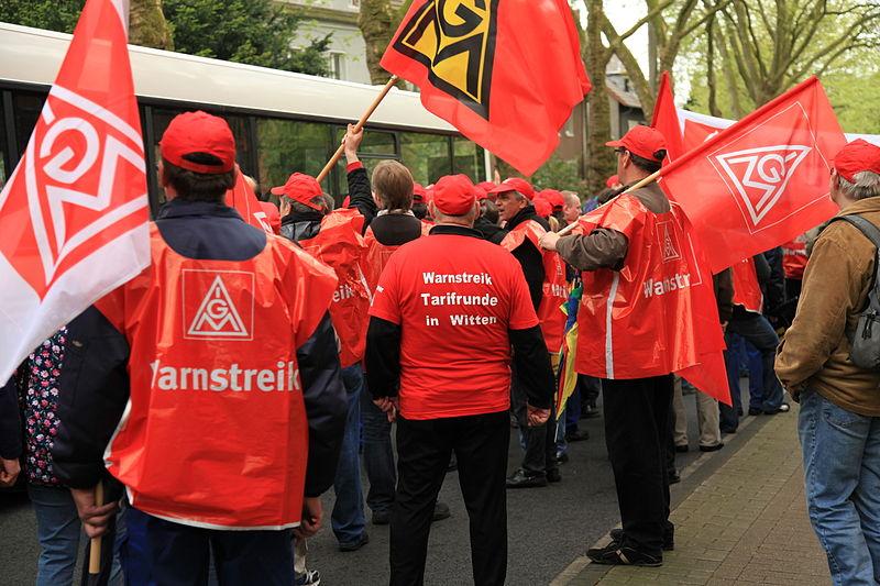 Gewerkschaften gegen den Bundesparteitag