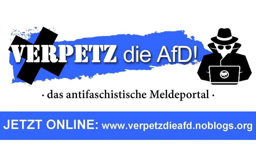 Verpetz die AfD: Neue Denunziantenplattform aufgetaucht