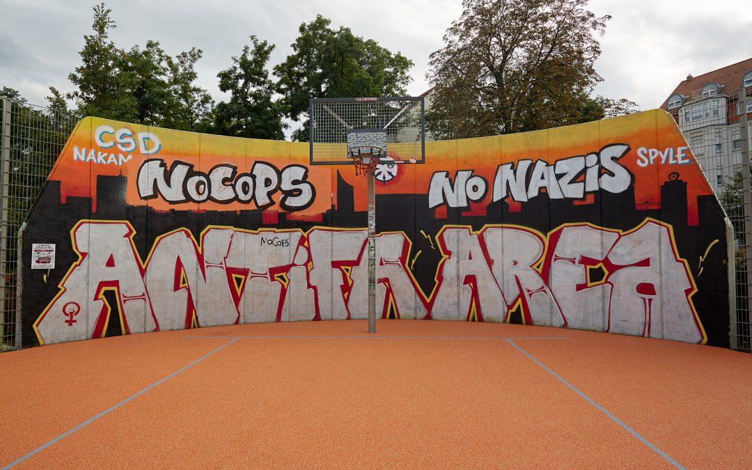 Linksextreme besetzen Haus in Leipzig