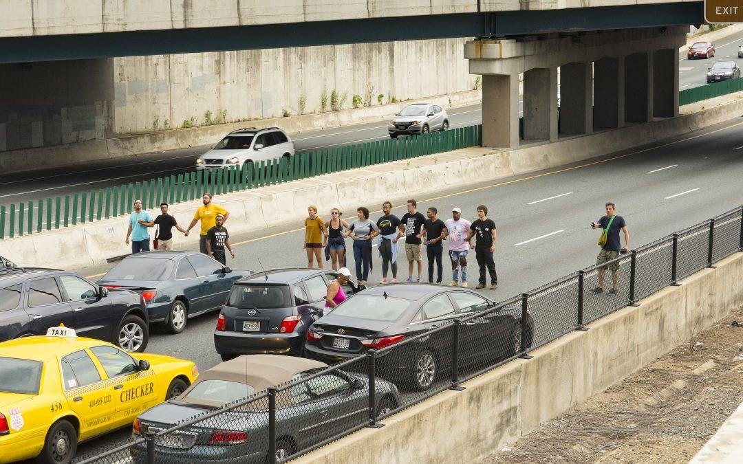Linksextreme legen erneut Verkehr lahm