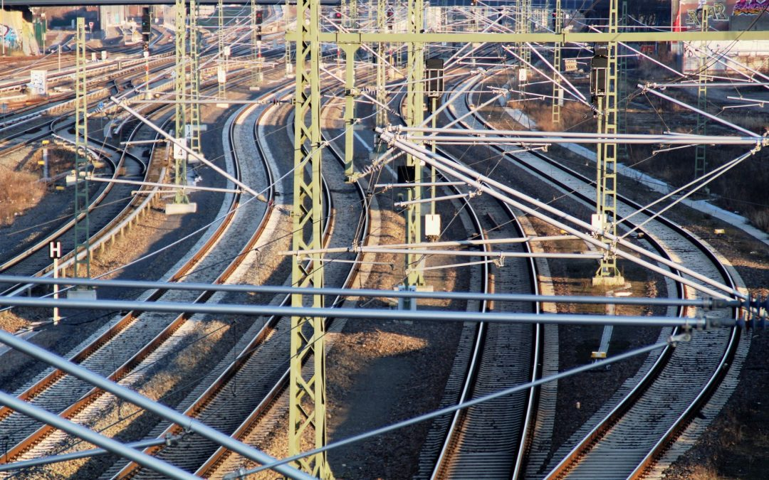 Brandanschlag auf Schienennetz